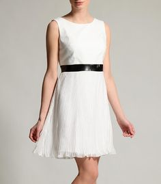 Plissee-Kleid - einfach mit nem anderen Gürtel