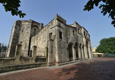 Cathedral de Santa Maria, the oldest church in the New World.