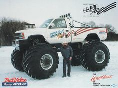 1970 USA#1 Monster Truck up for grabs - The 1947 - Present Chevrolet & GMC Truck Message Board Network