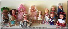 Ελληνικές κούκλες από διάφορες εταιρίες και δεκαετίες.