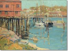 Jane Peterson - Gloucester Fleet Approximate Original Size - 30x40 ...