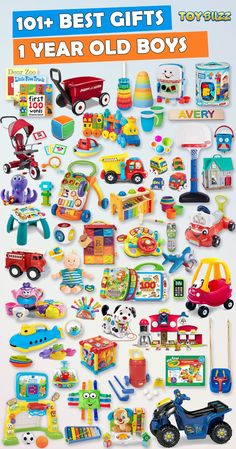 Browse our Gift Guide featuring Best Gifts For Boys. Discover the best toddler toys, educational toddler toys, and unique toddler toys for your 1 year old boy. Make his Birthday or Christmas extra magical with these delightful picks he'll love! 1 Year Old Christmas Gifts, Christmas Birthday, Christmas Toys, Toddler Christmas Gifts, Baby Christmas Gifts, 1st Birthday Boy Gifts, 40th Birthday, Best Gifts For Boys, 1 Year Old Girl