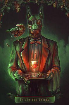 El vino de los Tiempos by DarthiaWolf