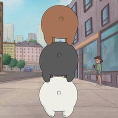 Bear Butts ❄ #bearstack #funny #cute