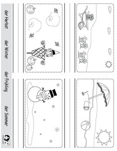 Spring Printouts German ~ German for Kids