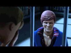 Ken y Barbie en una trifulca muy particular. Toy Story 3, Laugh At Yourself, Barbie And Ken, Disney Pixar, Funny Shit, Einstein, Cinema, Pop, Youtube