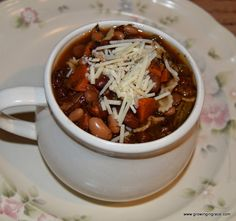 Growing in Grace: Pasta E Fagioli Soup