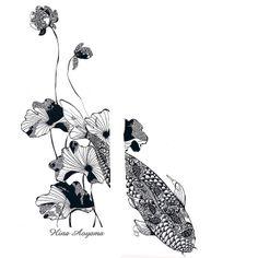 """""""poisson07"""" papercut by Aoyama Hina"""