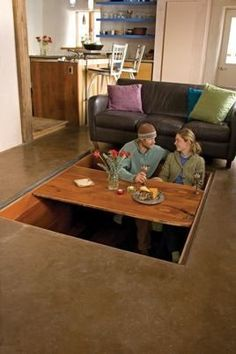 1000 images about tiny house storage space solutions on for Small dining area solutions