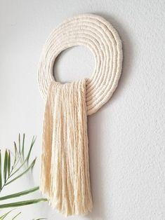 Macrame Design, Macrame Art, Macrame Projects, Rope Art, Macrame Patterns, Hanging Wall Art, Sculpture Art, Fiber Art, Decoration
