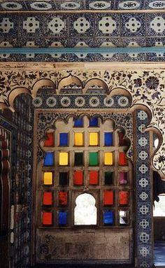 Antique Indian color