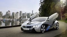 BMW i8 (Concept) Coming this year! Yeah environmentally friendly cars rock!
