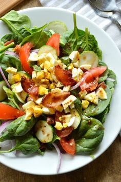 The Best Bacon Salad Dressing