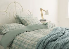 Find sophisticated detail in every Laura Ashley collection - home furnishings, children's room decor, and women, girls & men's fashion. Bedroom Green, Bedroom Decor, Bedroom Ideas, Tomboy Bedroom, Spare Bed, Single Duvet Cover, Childrens Room Decor, Beautiful Bedrooms, Linen Bedding