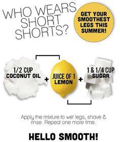 Smooth leg remedy