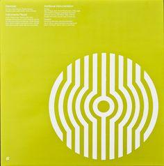 Stereolab - Dots And Loops (Inner sleeve) Shape Design, Design Art, Logo Design, Graphic Design, Ghost Box, Art Of Noise, Japan Logo, Cd Art, Poster Design