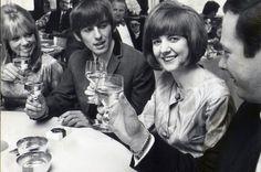 Pattie Boyd, George Harrison, Cilla Black
