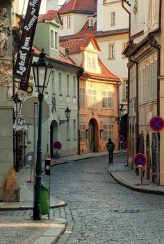 Míšeňská ulice v Praze.