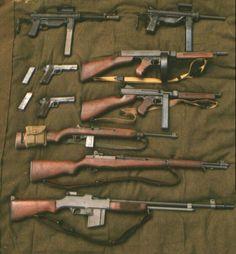 Armas americanas ww2