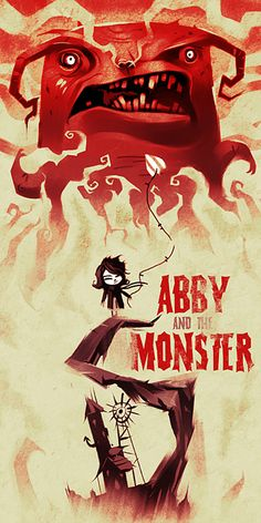 Abby and the Monster Illustration by Kevin Dart