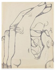 Abidin Dino Talk To The Hand, Magic Realism, Illustration Sketches, Illustrations, Art Database, Contemporary Paintings, Hand Tattoos, Hands, Eyes