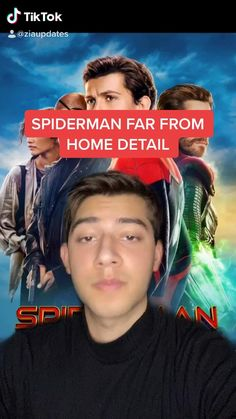 Spiderman Far From Home Detail