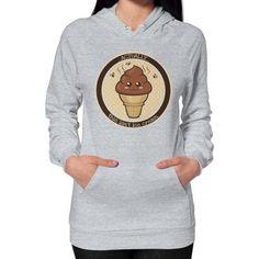 THIS ISN'T Ice Cream Hoodie (on woman)