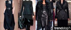 Fall Winter 2014-15, Dark Daywear Elegance a key trend theme, women's apparel and accessories, runway 1