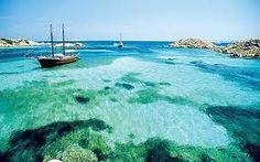 The beautiful waters of Sardinia. sardiniayoga.com