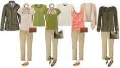 summer capsule wardrobe example