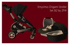 Here is Emysimss' 4moms Origami Stroller Set for TS2. It has very many parts and I will be making poses for it shortly. You need Shiftable OMSP's to place many of the components, but this is an honestly great stroller in real life and I'm happy to have converted it for my game! The bassinet comes…