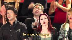 """Somos El Mundo con letra (""""We are the world"""" in Spanish with lyrics, 歌詞付)"""