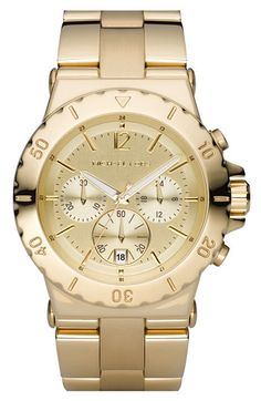 Classic timepiece- 40% off right now. Michael Kors Chronograph Watch | Nordstrom