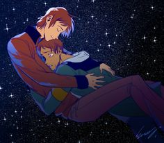 The picture of original Lance hugging new Lance is giving me all kinds of feels