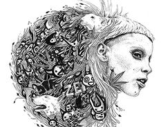 """Check out new work on my @Behance portfolio: """"Die Antwoord - Illustration Vinyle"""" http://be.net/gallery/35786235/Die-Antwoord-Illustration-Vinyle"""