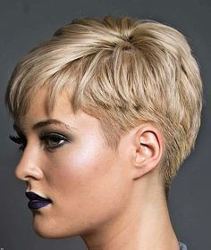 "693 Likes, 7 Comments - Евгения Панова (@panovaev) on Instagram: ""@kryptogirl7 #pixie #harcut #shorthair #h #s #p #shorthaircut #blondehair #b #hair…"""