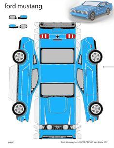 ESPAÇO EDUCAR: Moldes de carros, ônibus, meios de transporte para recortar, montar ou usar em maquetes!