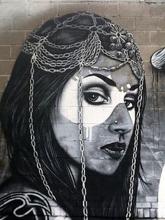 Fin DAC x Angelina Christina – New Mural In Montreal // Canada