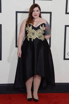 Grammy Plus Size: Mary Lambert entre as mais lindas! Plus Size Dresses, Plus Size Outfits, Curvy Fashion, Plus Size Fashion, Beautiful Dresses, Nice Dresses, Mary Lambert, Style Outfits, Plus Size Beauty