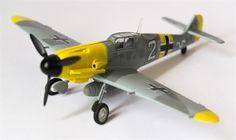 Messerchmitt BF-109 F-2 Aviones WWII Militar Modelismo