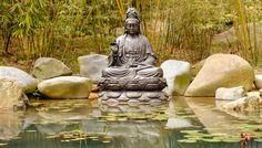 Tuinposter 'Buddha'