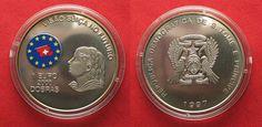 1997 St. Thomas & Prinzeninsel ST. THOMAS and PRINCE ISLAND 2000 Dobras - 1 Euro 1997 Cu-Ni COLORED # 92980 st