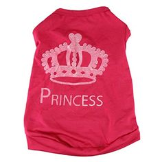 Sunward Fashion Pet Clothes Cute Dog Cat Princess Tshirt Vest Coat Puppy Costume S * Check out the image by visiting the link.