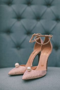 Designer Wedding Shoes, Designer Heels, Best Wedding Blogs, Wedding Flats, Bride Shoes, Manolo Blahnik, Cute Shoes, Dance Shoes, Bridal