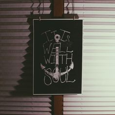 """It Is Well"" print"