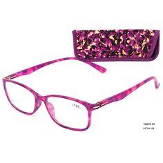 Eso Vision 165070 C3 purple reading glasses full frame Glasses +1.0 +1.5 +2.0 +2.5 +3 +3.5 +4.0