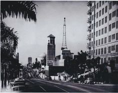 The Gaylord Apartment Building, Which Is Visible On The Center Right,u2026 | Los  Angeles | Pinteu2026