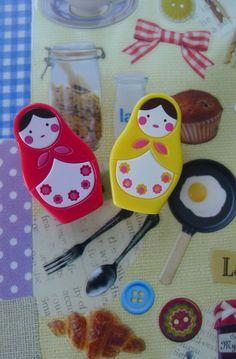 Kawaii Matryoshka Russian Doll Magnets