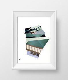 34 Mélancolia #contemporarypapercollage #papercollage #collage #collageonpaper #artcollage #collageart