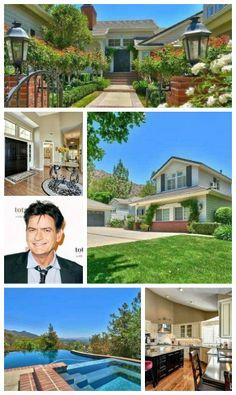 Bad Boy Charlie Sheen is selling his #California #home! #CharlieSheen #Vipliving #celebrityrealestate #realestate